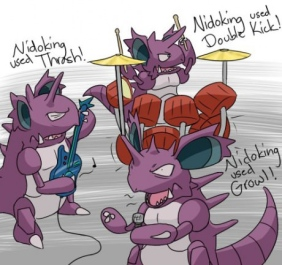 nidoking-metal